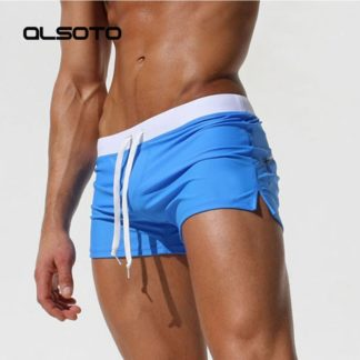 d1f60b7327b49 2018 Summer Swimwear Men Swimsuit Maillot De Bain Boy Swim Suits Boxer  Shorts Swim Trunks Swimming Surf Banadores mayo sungas